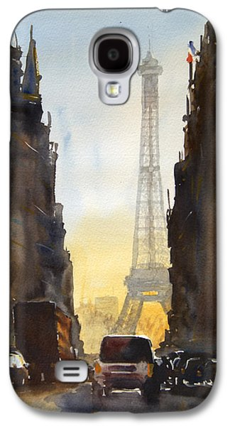 Tower Galaxy S4 Cases - Dawn in Paris Galaxy S4 Case by James Nyika