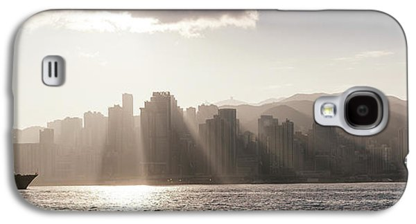 Dawn Over Central Business District Galaxy S4 Case by Panoramic Images