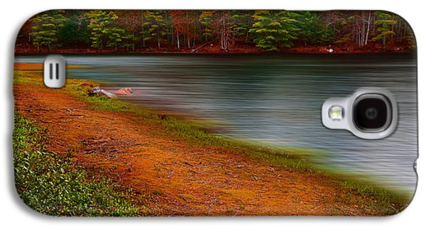 Pond In Park Galaxy S4 Cases - Day At The Park Galaxy S4 Case by Lourry Legarde