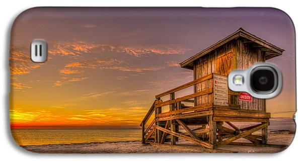 Wooden Platform Galaxy S4 Cases - Day Before Spring Break Galaxy S4 Case by Marvin Spates