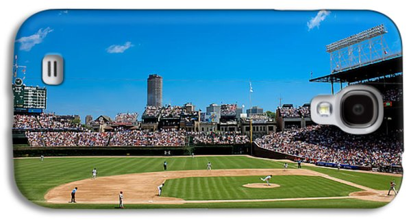 Wrigley Field Galaxy S4 Cases - Day Game at Wrigley Field Galaxy S4 Case by Anthony Doudt