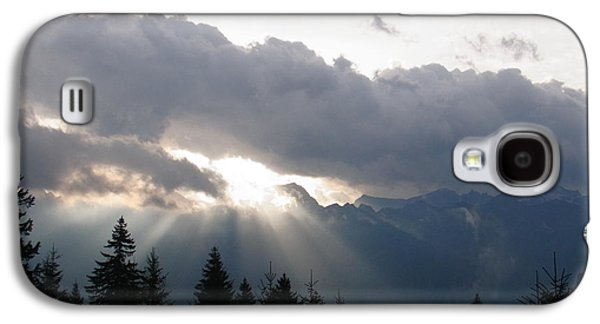 Rare Moments Galaxy S4 Cases - Daybreak Over Lepontine Alps Galaxy S4 Case by Agnieszka Ledwon