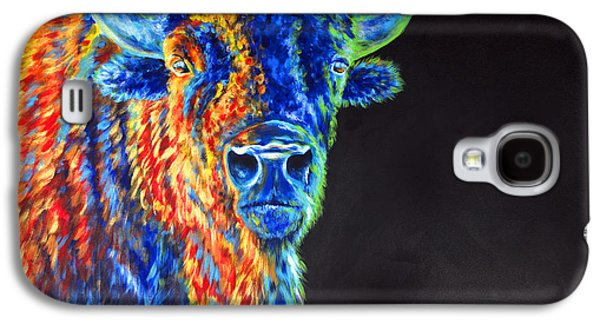 Gold Lime Green Galaxy S4 Cases - Daybreaker Galaxy S4 Case by Teshia Art