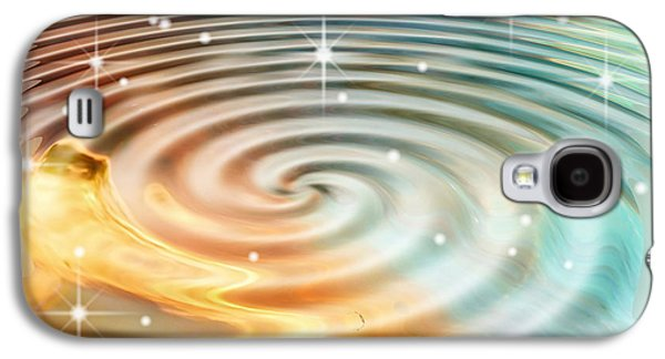 Art166 Galaxy S4 Cases - Daydreamers Pool Galaxy S4 Case by Wendy J St Christopher