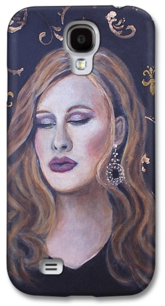 Adele Paintings Galaxy S4 Cases - Daydreaming Goddess Galaxy S4 Case by The Art With A Heart By Charlotte Phillips