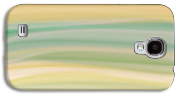 Blue Abstracts Galaxy S4 Cases - Daydreams 1 Galaxy S4 Case by Bonnie Bruno