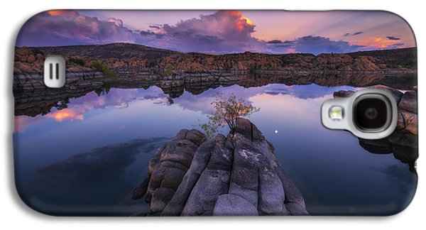 Watson Lake Galaxy S4 Cases - Days End Galaxy S4 Case by Peter Coskun