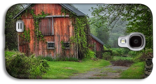 Connecticut Landscape Galaxy S4 Cases - Days Gone By Galaxy S4 Case by Bill  Wakeley