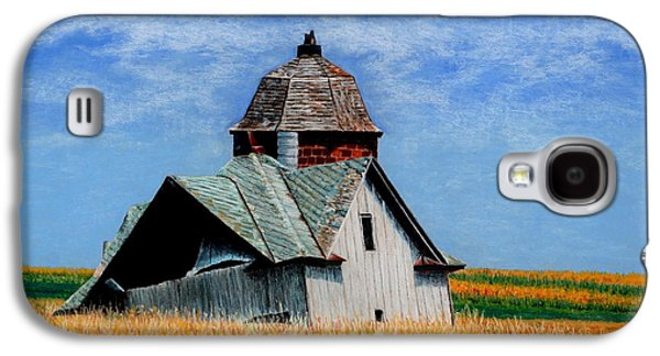 Old Barn Drawing Galaxy S4 Cases - Days Gone By Galaxy S4 Case by Kimberly Shinn