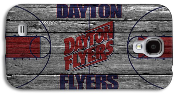 Dunk Galaxy S4 Cases - Dayton Flyers Galaxy S4 Case by Joe Hamilton