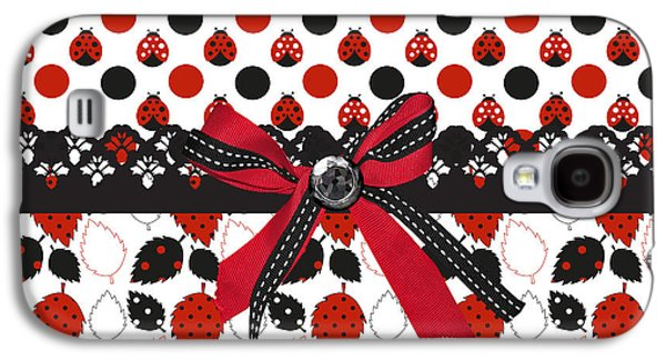 Dazzling Ladybugs  Galaxy S4 Case by Debra  Miller