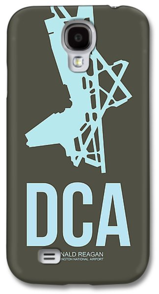 Dca Washington Airport Poster 1 Galaxy S4 Case by Naxart Studio