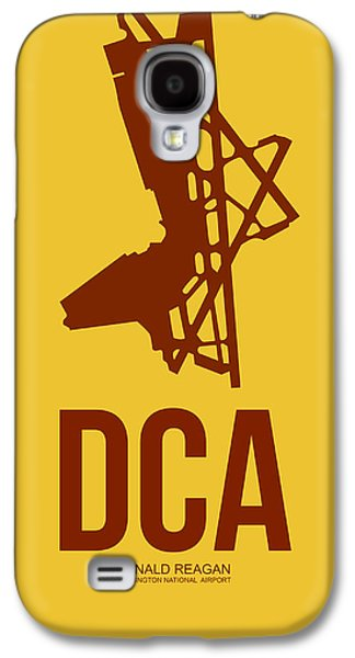 Dca Washington Airport Poster 3 Galaxy S4 Case by Naxart Studio
