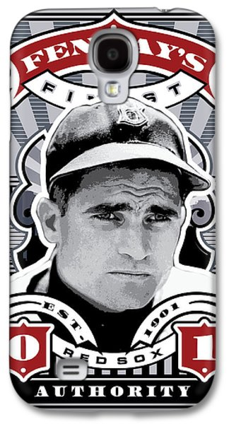 Espn Galaxy S4 Cases - DCLA Bobby Doerr Fenways Finest Stamp Art Galaxy S4 Case by David Cook Los Angeles