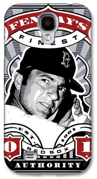 Espn Galaxy S4 Cases - DCLA Carl Yastrzemski Fenways Finest Stamp Art Galaxy S4 Case by David Cook Los Angeles