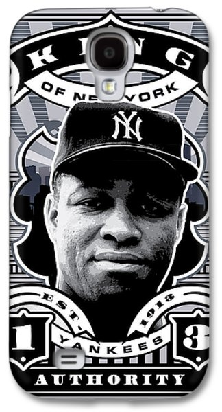 Dcla Elston Howard Kings Of New York Stamp Artwork Galaxy S4 Case by David Cook Los Angeles