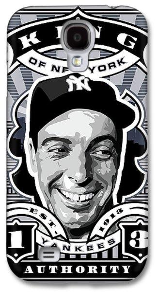 Dcla Joe Dimaggio Kings Of New York Stamp Artwork Galaxy S4 Case by David Cook Los Angeles