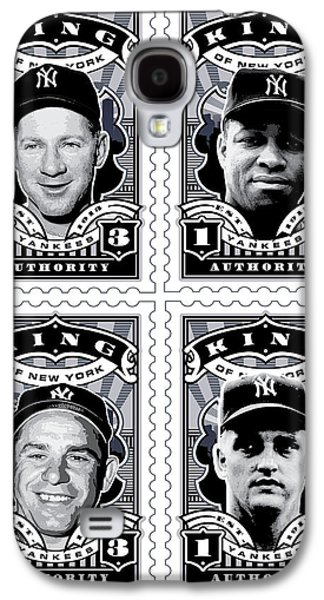 Dcla Kings Of New York Combo Stamp Artwork 2 Galaxy S4 Case by David Cook Los Angeles