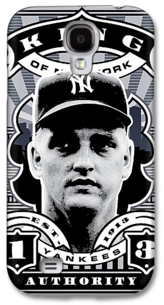Dcla Roger Maris Kings Of New York Stamp Artwork Galaxy S4 Case by David Cook Los Angeles