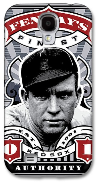 Espn Galaxy S4 Cases - DCLA Tris Speaker Fenways Finest Stamp Art Galaxy S4 Case by David Cook Los Angeles