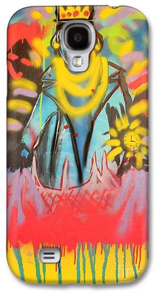 Jay Z Paintings Galaxy S4 Cases - D-Evils Galaxy S4 Case by Chris Carter