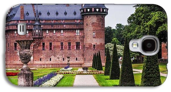 Garden Scene Galaxy S4 Cases - De Haar Castle 2. Utrecht. Netherlands Galaxy S4 Case by Jenny Rainbow