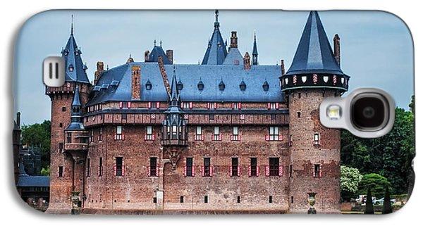 Garden Scene Galaxy S4 Cases - De Haar Castle. Utrecht. Netherlands Galaxy S4 Case by Jenny Rainbow