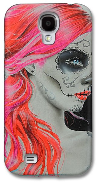 Gothic Paintings Galaxy S4 Cases - De Rerum Natura Galaxy S4 Case by Christian Chapman Art
