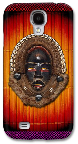 African Heritage Galaxy S4 Cases - Dean Gle Mask by Dan People of the Ivory Coast and Liberia  Galaxy S4 Case by Serge Averbukh