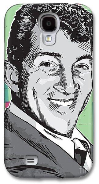 Dean Martin Pop Art Galaxy S4 Case by Jim Zahniser