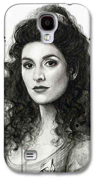 Star Trek Galaxy S4 Cases - Deanna Troi - Star Trek Fan Art Galaxy S4 Case by Olga Shvartsur