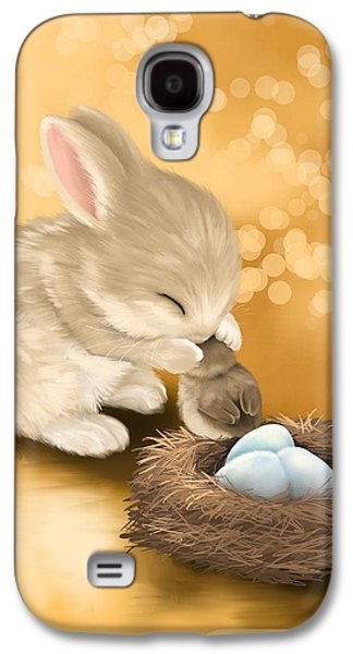 Puppies Galaxy S4 Cases - Dear friend Galaxy S4 Case by Veronica Minozzi