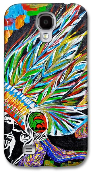 Best Sellers -  - Original Photographs Galaxy S4 Cases - Death Chief.  Galaxy S4 Case by Keith Harkin