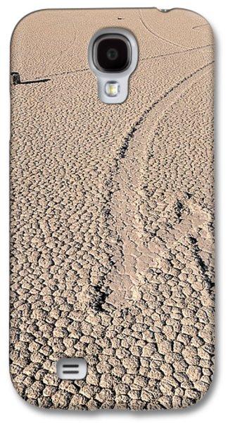 Slide Galaxy S4 Cases - Death Valley Racetrack California Galaxy S4 Case by Steve Gadomski