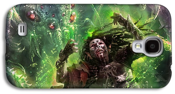 Death's Presence Galaxy S4 Case by Ryan Barger