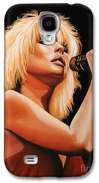 Deborah Harry Or Blondie 2 Galaxy S4 Case by Paul Meijering