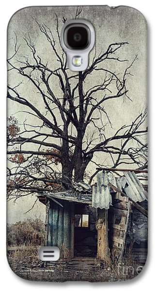 Macabre Digital Galaxy S4 Cases - Decay Barn Galaxy S4 Case by Svetlana Sewell