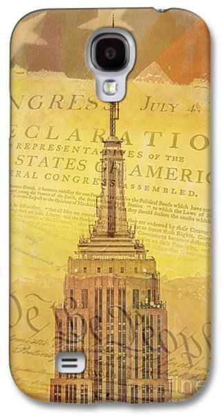 4th July Galaxy S4 Cases - Liberation Nation Galaxy S4 Case by Az Jackson