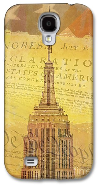 Declaration Of Independence Galaxy S4 Cases - Liberation Nation Galaxy S4 Case by Az Jackson
