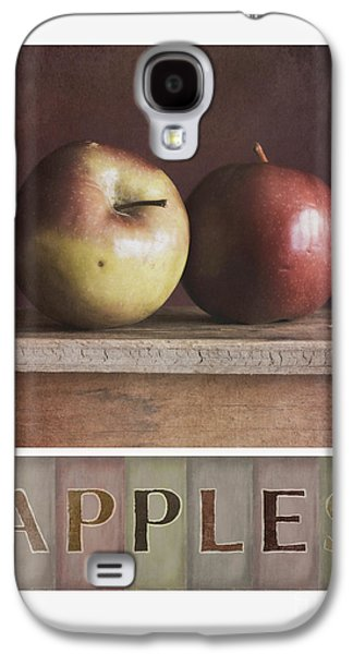 Apple Photographs Galaxy S4 Cases - Deco Apples Galaxy S4 Case by Priska Wettstein