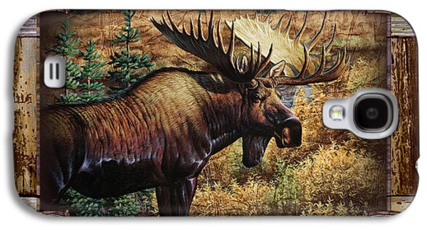 Jq Galaxy S4 Cases - Deco Moose Galaxy S4 Case by JQ Licensing