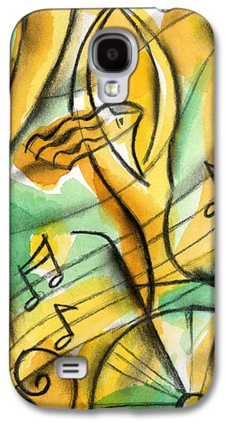 Courage Paintings Galaxy S4 Cases - Dedication Galaxy S4 Case by Leon Zernitsky