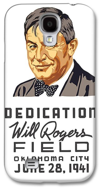 Warishellstore Mixed Media Galaxy S4 Cases - Dedication Will Rogers Field Galaxy S4 Case by War Is Hell Store
