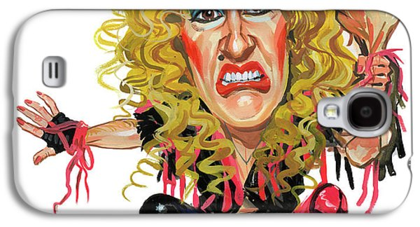 Sisters Paintings Galaxy S4 Cases - Dee Snider Galaxy S4 Case by Art