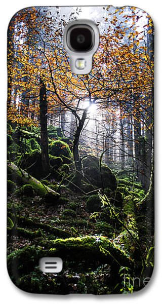 Moss Galaxy S4 Cases - Deep forest Galaxy S4 Case by Yuri Santin