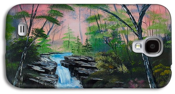 Bob Ross Paintings Galaxy S4 Cases - Deep in the Woods Galaxy S4 Case by Kevin  Brown