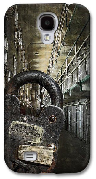 Alcatraz Photographs Galaxy S4 Cases - Deep Lockdown Alcatraz Galaxy S4 Case by Daniel Hagerman