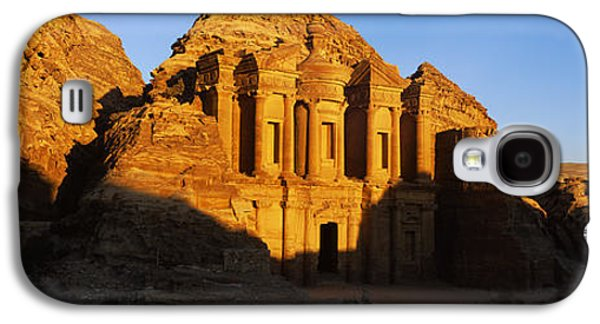 Petra Galaxy S4 Cases - Deep Shadows At The Monastery, Al Deir Galaxy S4 Case by Panoramic Images