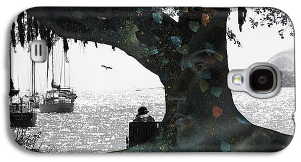Tree Roots Galaxy S4 Cases - Deeply Rooted Galaxy S4 Case by Betsy A  Cutler