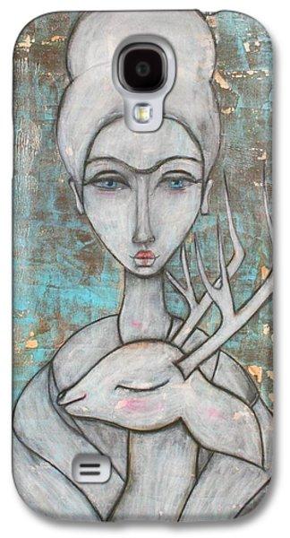 Deer Frida Galaxy S4 Case by Natalie Briney